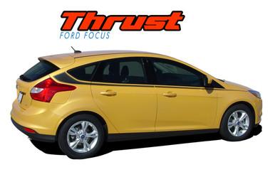 thrust ford focus stripes focus decals focus vinyl graphics. Black Bedroom Furniture Sets. Home Design Ideas