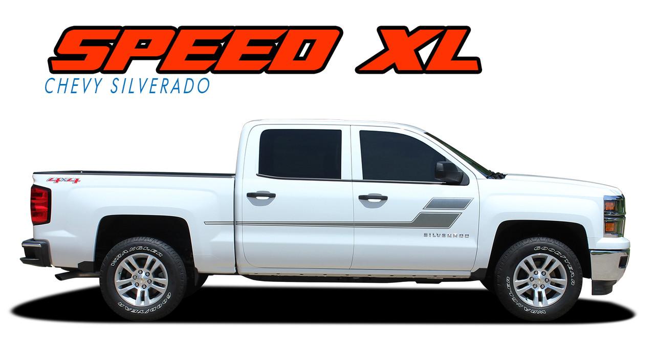 Speed Xl Silverado Door Stripes Silverado Decals