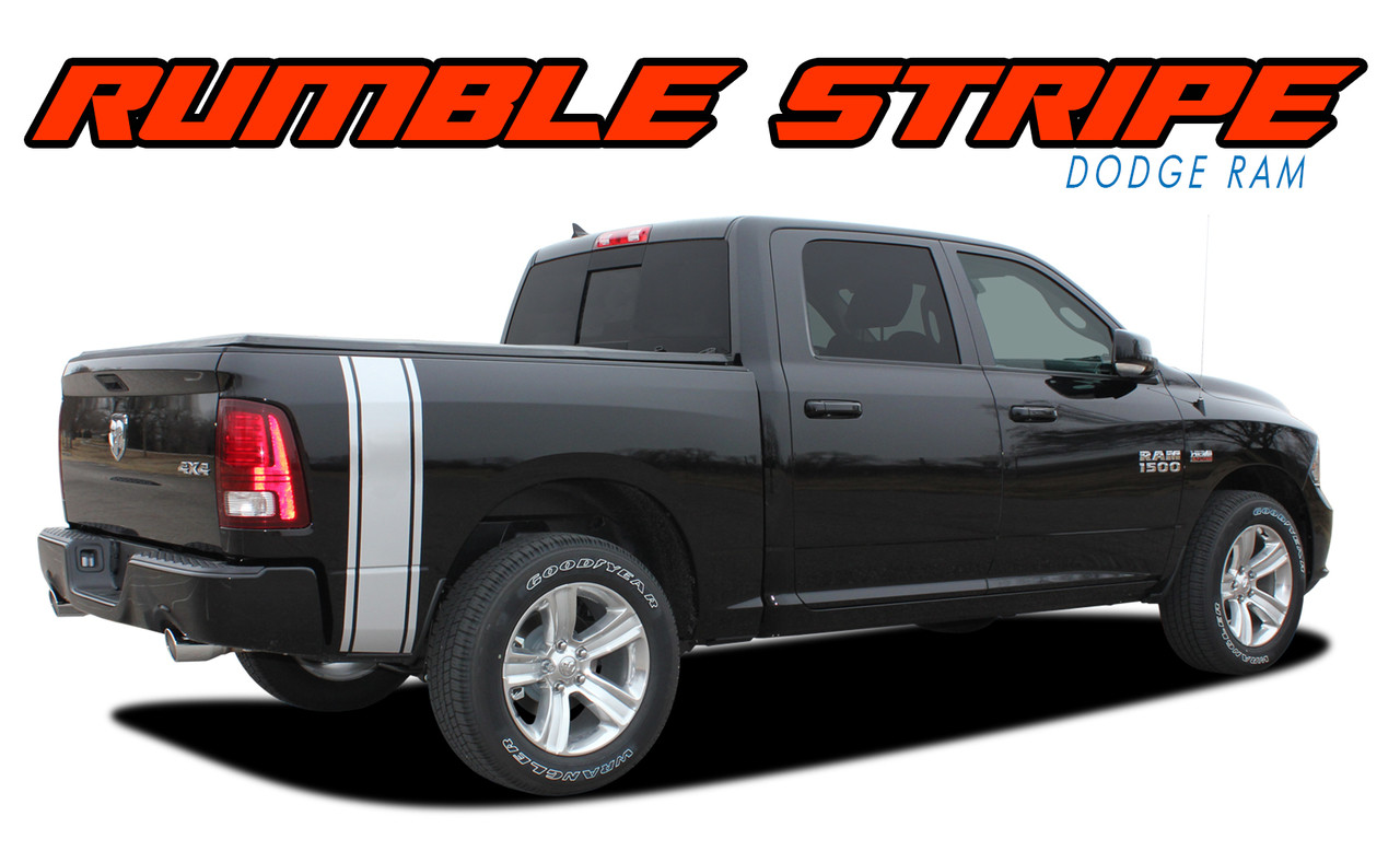 RUMBLE Dodge Ram Bed Stripes Ram Decals Ram Vinyl Graphics - Truck bed decals custombody graphicsdodge ram