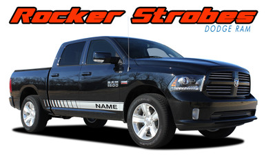 Dodge Ram Truck Vinyl Graphics Decals Stripes Truck Lower Door Panels Mopar M Vgp Rockers on 99 Dodge 4 Door Truck
