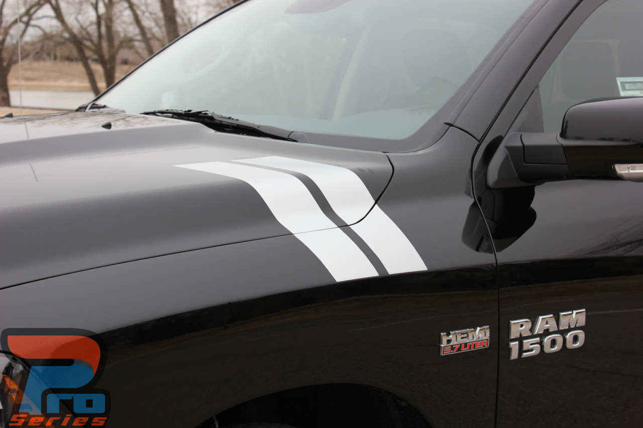 Double Bar Dodge Ram Stripes Ram Fender Decals Ram