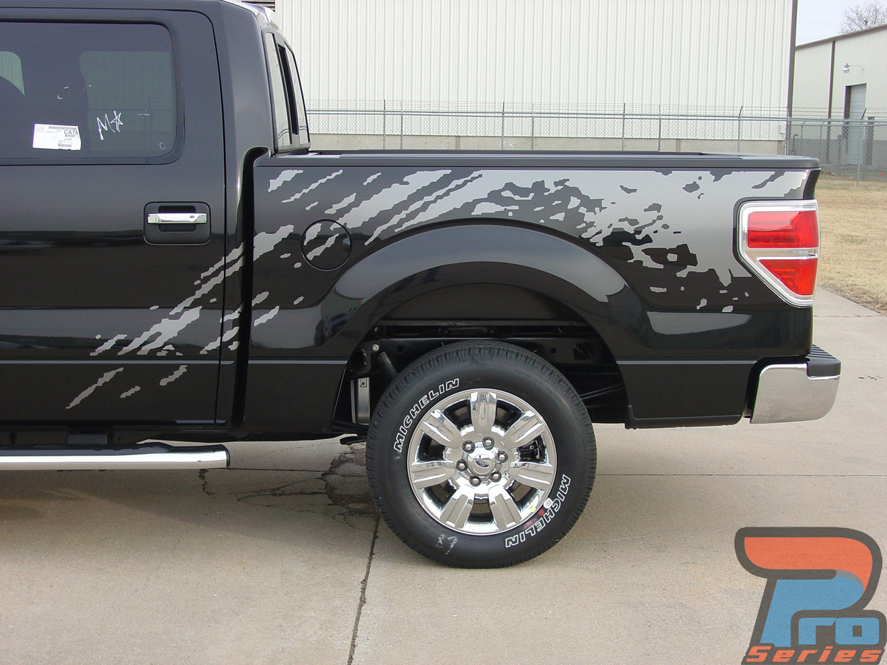 predator ford  stripes  mudslinger decals  vinyl graphics