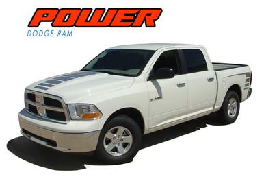 Dodge Ram Truck Vinyl Graphics Decals Stripes Hood Bed Strobes Mopar M Vgp Power on 05 Dodge Ram 1500 Stripes