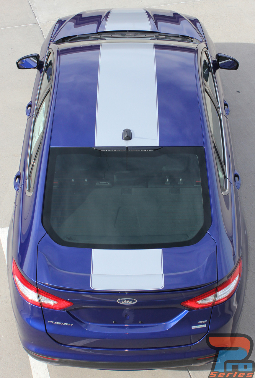 Overview Ford Fusion Stripes Fusion Hood Decals