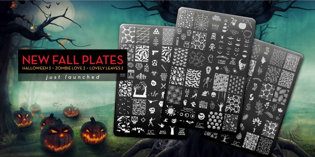 New Uber Chic Stamping Plates