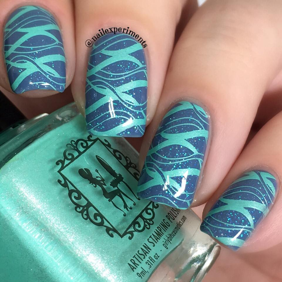 Lina Make Your Mark 06, available at www.lanternandwren.com. Mani by @nailexperiments.