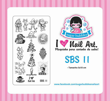Sugar Bubbles SBS-11 nail stamping plate, available in the USA at www.lanternandwren.com.