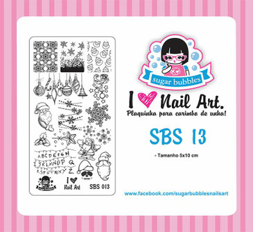 Sugar Bubbles SBS-13 nail stamping plate. Available at www.lanternandwren.com.