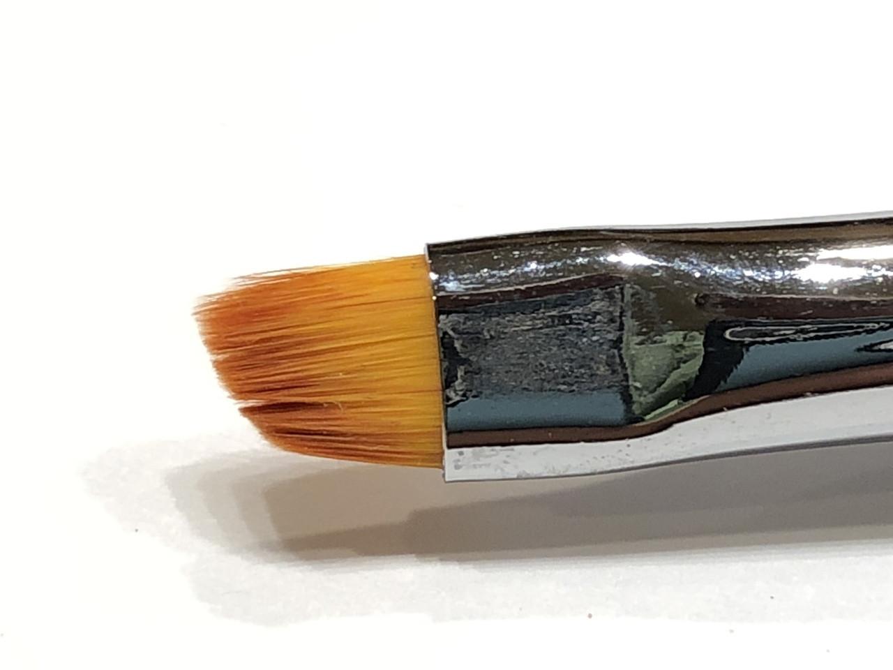 Lantern & Wren Angled Clean Up Brush, available only at www.lanternandwren.com.