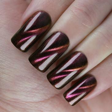 Kaleidoscope Magnetic Nail Polish - Magic Cats 71, available at www.lanternandwren.com.