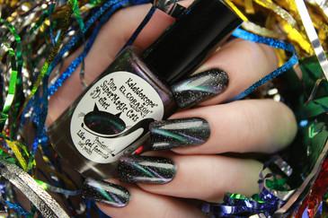 Kaleidoscope Magnetic Nail Polish - Super Magic Cats 82 - 9 ml