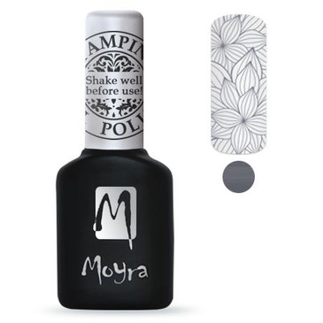 Silver GEL stamping polish from Moyra. Available at Lantern & Wren.