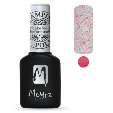 Pink GEL stamping polish from Moyra. Available at Lantern & Wren.