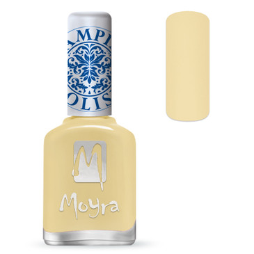 Moyra Stamping Nail polish sp 17 in Vanilla, available at www.lanternandwren.com.