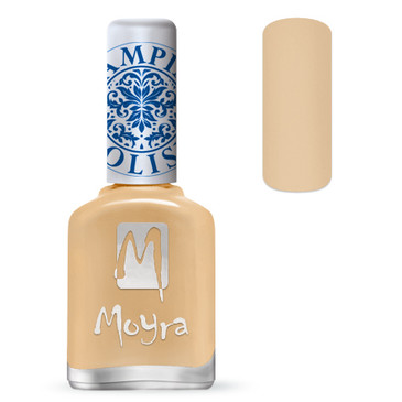 Moyra SP18 beige stamping polish. Available at www.lanternandwren.com.