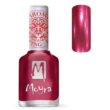 Moyra SP29 chrome rose stamping polish. Available at www.lanternandwren.com.