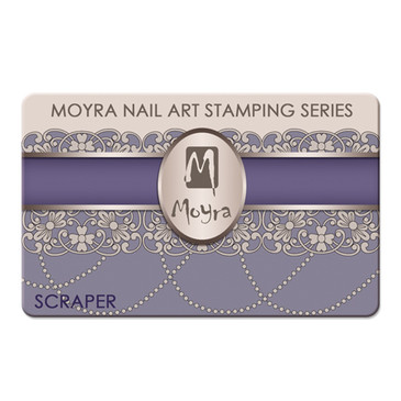 Moyra Purple Scraper for Stamping Plates, available at www.lanternandwren.com.