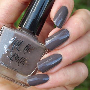 From Beyond the Greige stamping nail polish from Hit the Bottle!  Free USA shipping available.