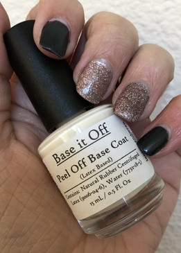 Base It Off - peel off latex based base coat