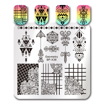 Born Pretty BP-X36 Stamping Plate
