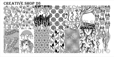 Creative Shop Stamping Plate 26. Available at www.lanternandwren.com.