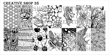 Creative Shop Stamping Plate 38. Available at www.lanternandwren.com.