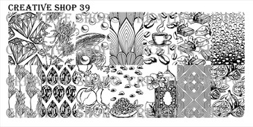Creative Shop Stamping Plate 39. Available at www.lanternandwren.com.