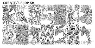Creative Shop Stamping Plate 52.  Available at www.lanternandwren.com.