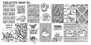 Creative Shop Stamping Plate 84.  Available at www.lanternandwren.com.