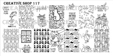 Creative Shop Stamping Plate 117.  Available at www.lanternandwren.com.