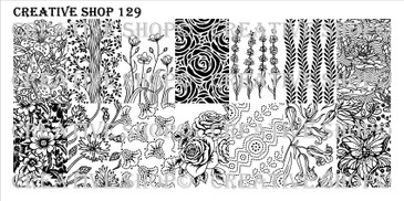 Creative Shop Stamping Plate 129.  Available at www.lanternandwren.com.