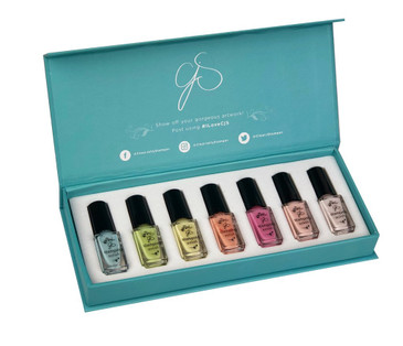 Clear Jelly Stamper pastel stamping kit, available at www.lanternandwren.com.