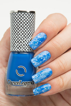 Dance Legend Spot It nail art top coat in red. Available in the USA at www.lanternandwren.com.