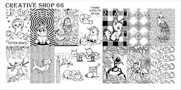 Creative Shop Stamping Plate 66.  Available at www.lanternandwren.com.