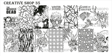 Creative Shop Stamping Plate 35. Available at www.lanternandwren.com.