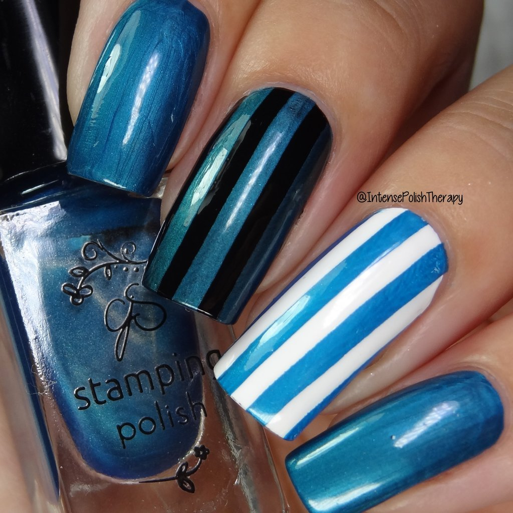 Clear Jelly Stamper nail stamping polish #52 -  Jazz Not Blues