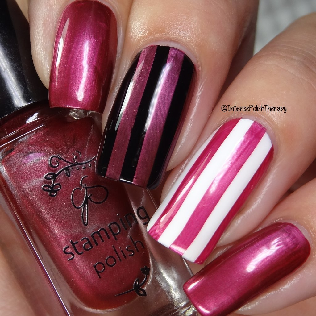 Clear Jelly Stamper nail stamping polish #55 Pomegranate Pop