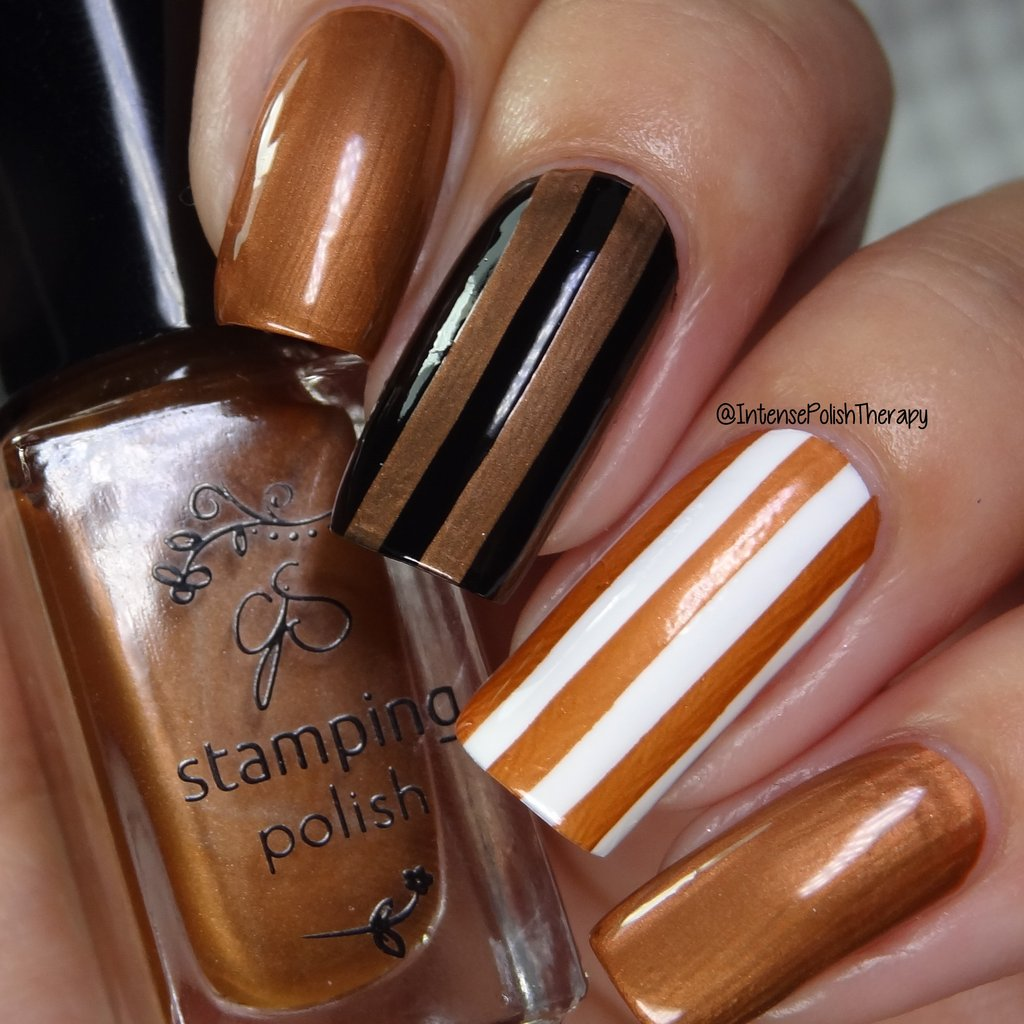 Clear Jelly Stamper nail stamping polish #56 Salted Caramel