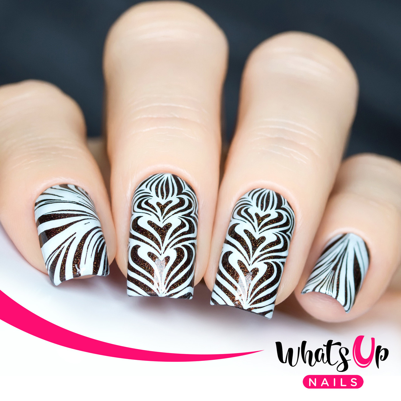 Whats Up Nails - B002 Water Marble to Perfection - Mini Nail ...