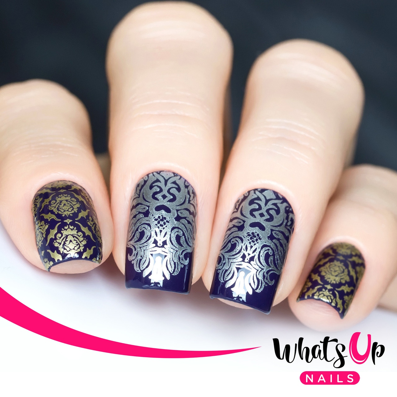 Whats Up Nails - B001 Middle Eastern Vibes - Mini Nail Stamping ...