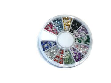 Round Rhinestone Carousel, 12 colors