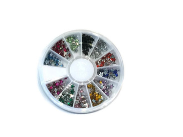 Star Rhinestone Carousel, 12 colors
