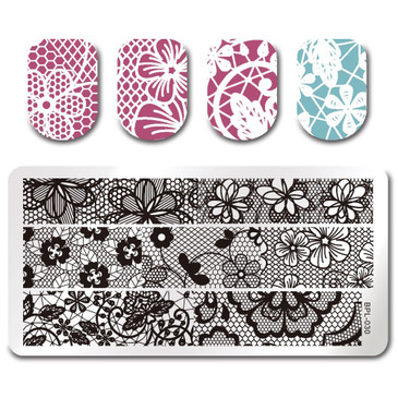Born Pretty BP-L030 Nail Stamping Plate, ships from the USA at www.lanternandwren.com.