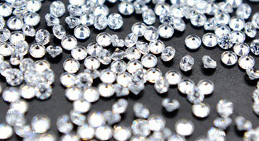 Clear 1.2mm Zircon Nail Rhinestones for nail art. Get yours in the USA at www.lanternandwren.com.