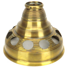 LIMITED PRODUCTION SPUN BRASS TOP DUST COVER FOR HUNTER TUERK BEEHIVE