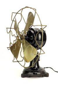 "1905 AEG Ball  and Socket 12"" Desk Fan"