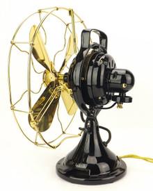 "1914 General Electric Brass Blade & Cage ""Continual Oscillator"""