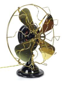"Beautifully Restored 1915 16"" Menominee Snowflake Oscillator"