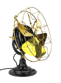 "Beautiful Original Trojan 5210 12"" 6 Blade Desk Fan"