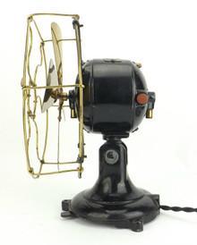 """8"""" Dayton Type 22 Brass Bladed / Cage Desk Fan"""